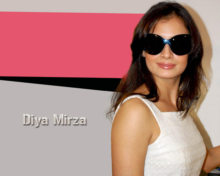 Diya Mirza Stylist Wallpaper