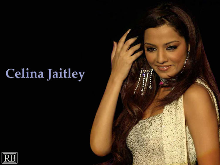 Celina Jaitley Sweet Wallpaper