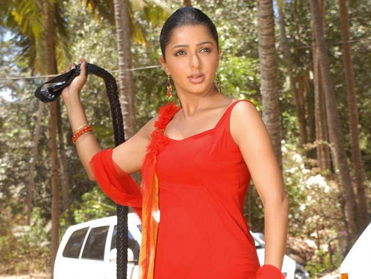Bhumika Chawla Angry Look Film Pic