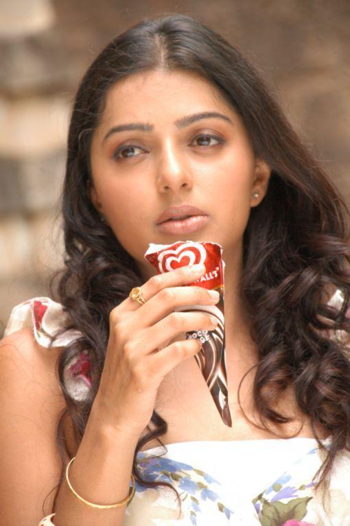 Bhumika Chawla Cute Pic With Ice Cream