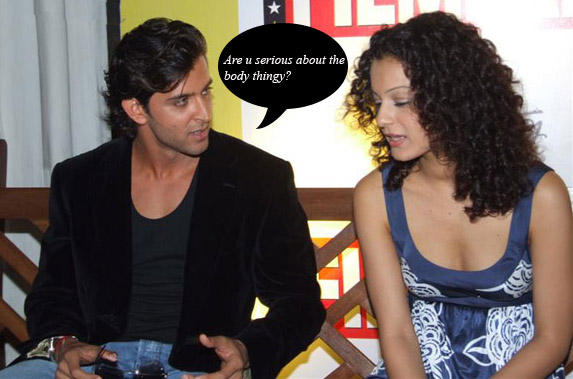 Hrithik Roshan and Kangana Ranaut Photo
