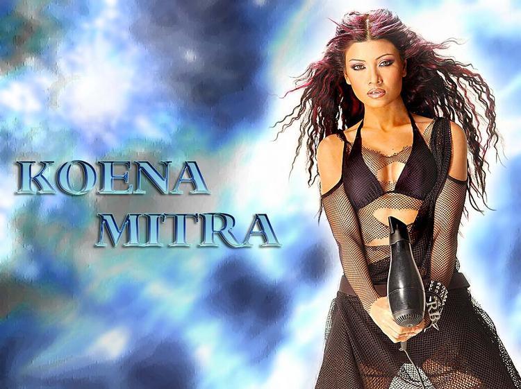 Koena Mitra Curly Hair Sexiest Wallpaper