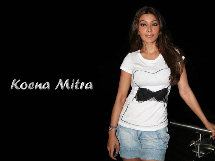 Koena Mitra Mini Dress Glam Pic