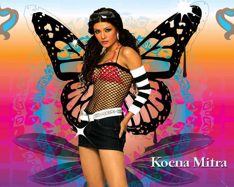 Koena Mitra Sexy Dress Wallpaper