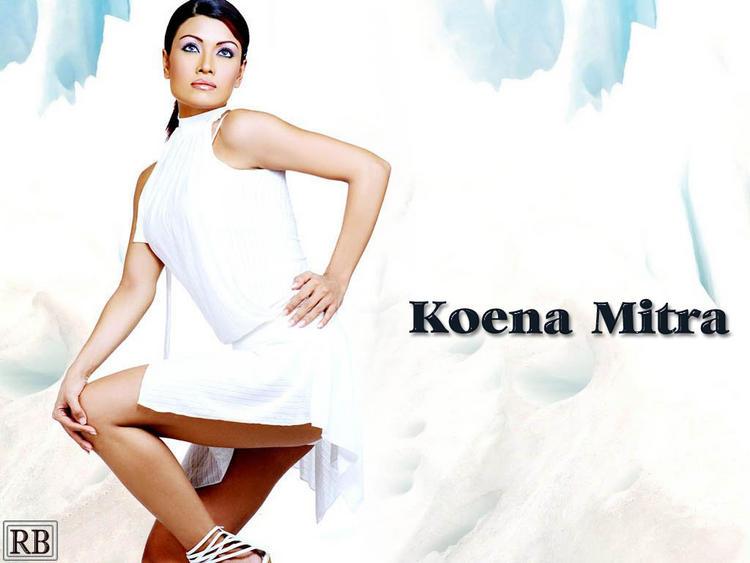 Koena Mitra Short Dress Hot Wallpaper