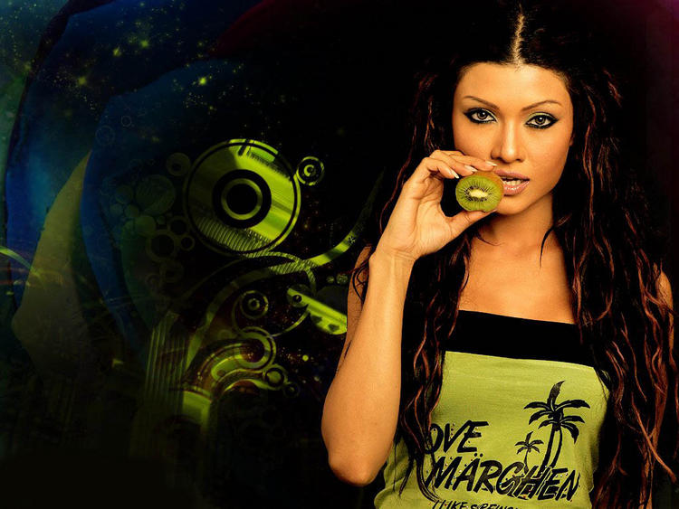 Pretty Koena Mitra Hot and Sexy Wallpaper