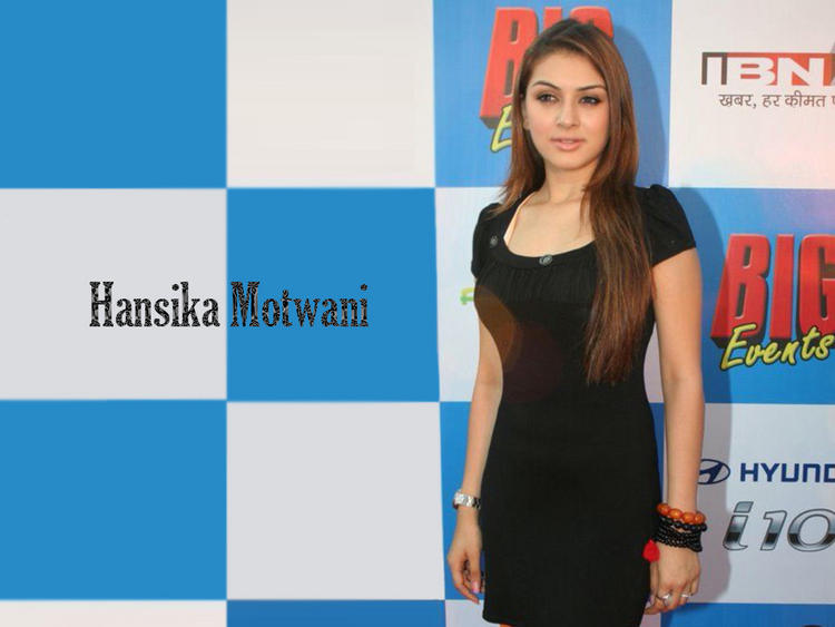 Hansika Motwani Hot Sizzling Wallpaper