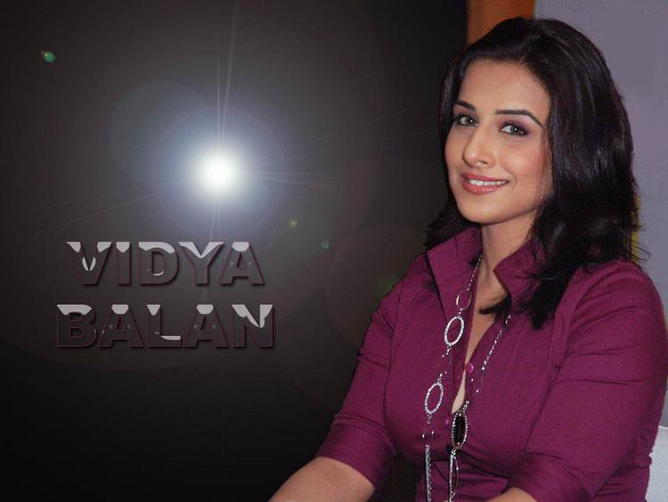 Charming Actress Vidya Balan Wallpaper