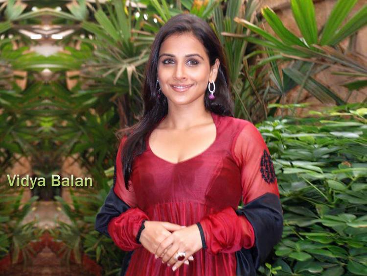 Vidya Balan Beautiful face Look Wallpaper