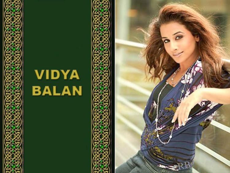 Vidya Balan Stunning Wallpaper