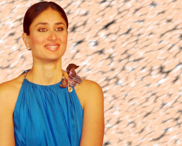Kareena Kapoor Sweet Smile Face Glamour Still
