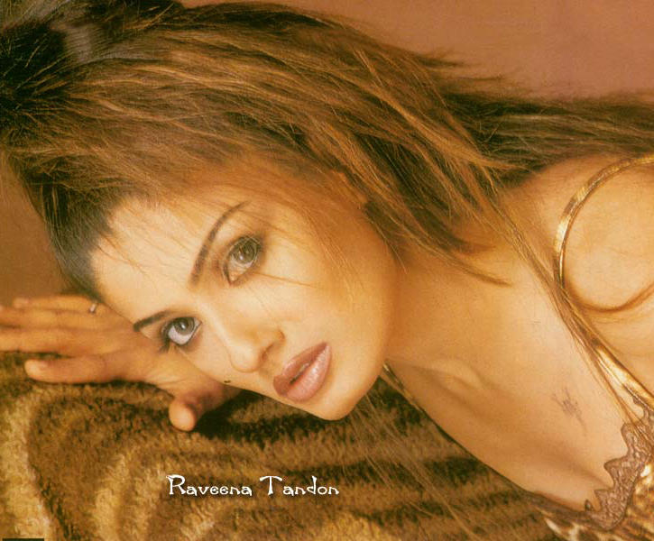 Raveena Tandon Hot Spicy look Wallpaper
