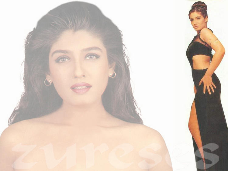 Spicy Raveena Tandon Wallpaper