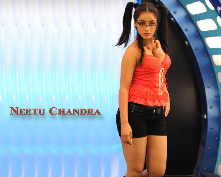 Neetu Chandra Cute Makeup Hot Wallpaper