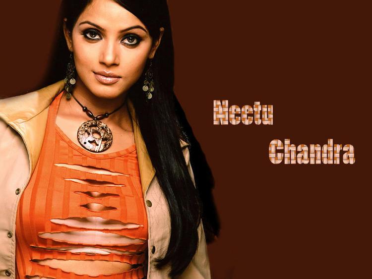 Neetu Chandra Sexy Dress Wallpaper