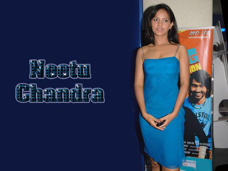 Neetu Chandra Sleeveless Dress Hot Wallpaper