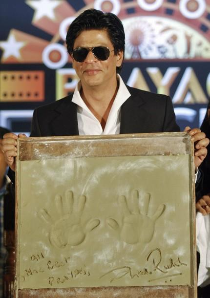 SRK During The Inauguration of Prayag Film City at Chandrakona Village