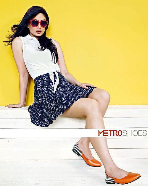 Kareena Kapoor Photoshoot For Metro Shoes