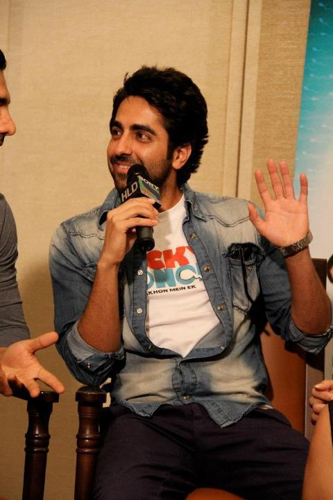 Ayushman on HLD to Promote Vicky Donor