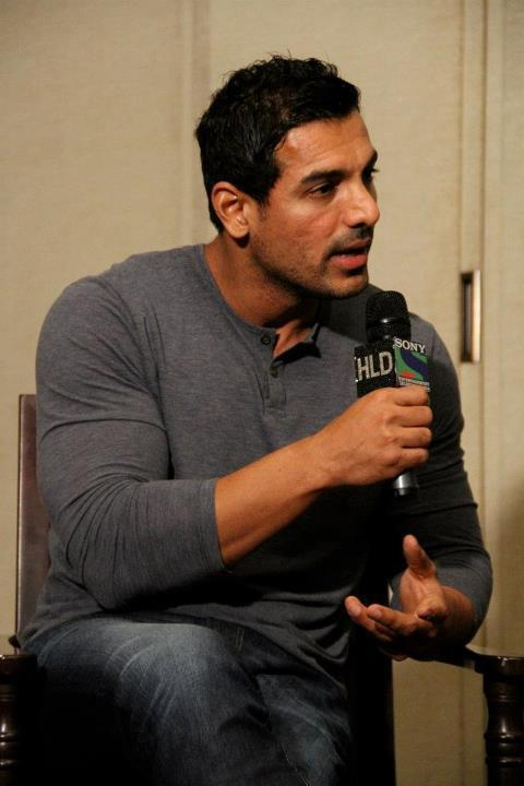 John Abraham on HLD to Promote Vicky Donor