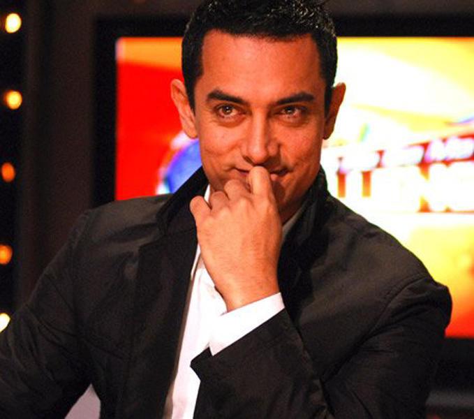 Aamir Khan Cute Sweet Face Still