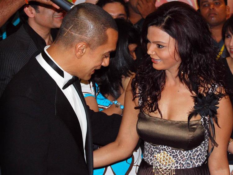 Aamir Khan with Rakhi Sawant