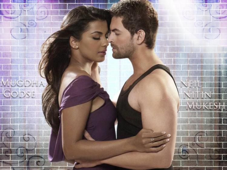 Mugdha Godse and Neil Nitin Mukesh Hot Scene Pic