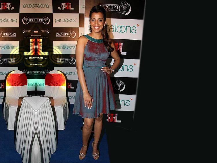 Mugdha Godse Cute Dress Sweet Still
