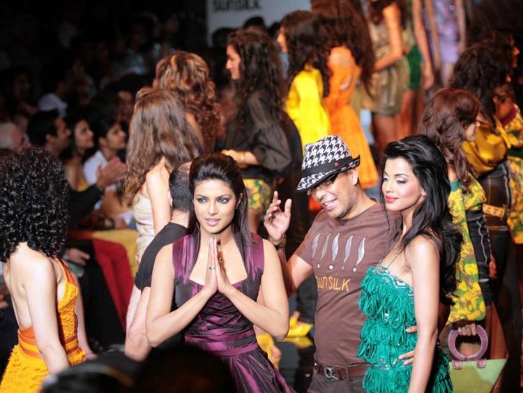 Priyanka Chopra with Mugdha Godse