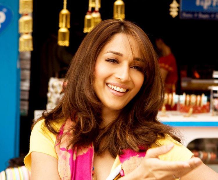 Madhuri Dixit Cute Face Look