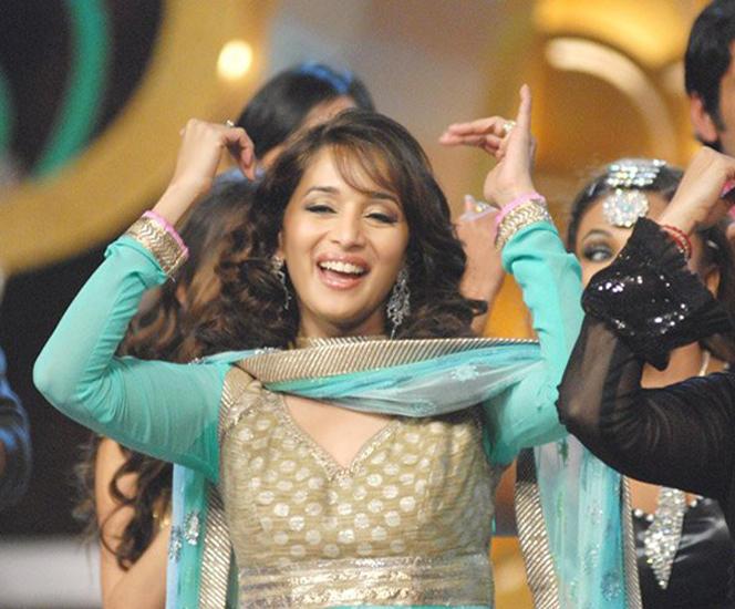 Madhuri Dixit Dancing Pose