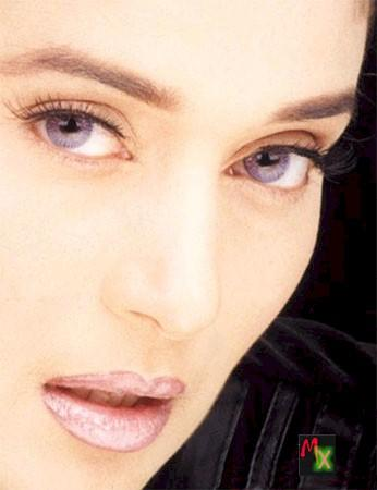 Madhuri Dixit Sexy Eyes Look