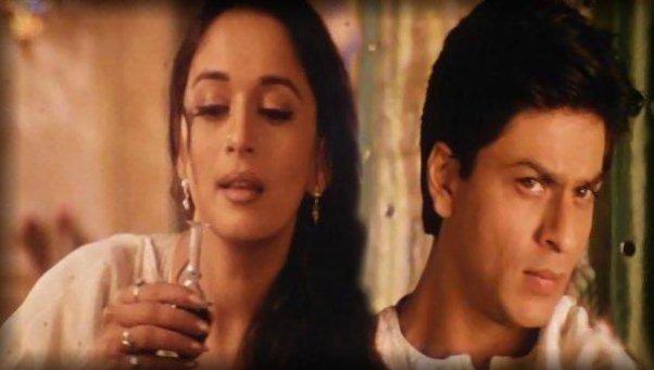 Shahrukh and Madhuri Hot Photo