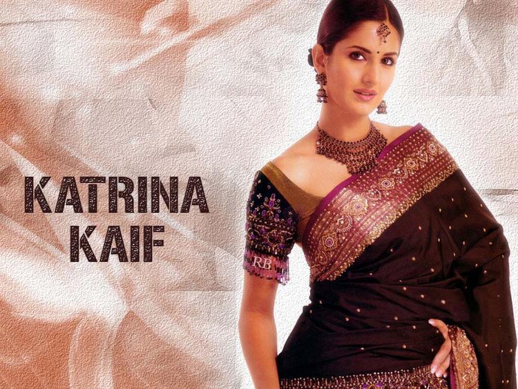Katrina Kaif in Saree Beauty Still