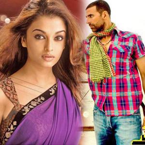 Akshay and Aishwarya Rai Bachchan Still