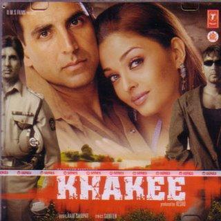 Akshay Kumar and Aish In Khakee Wallpaper