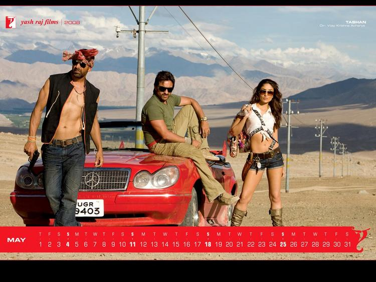Akshay, Saif and Kareena Hot Still