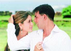 Kambakkht Ishq Akshay and Kareena Set To Screen on Fire