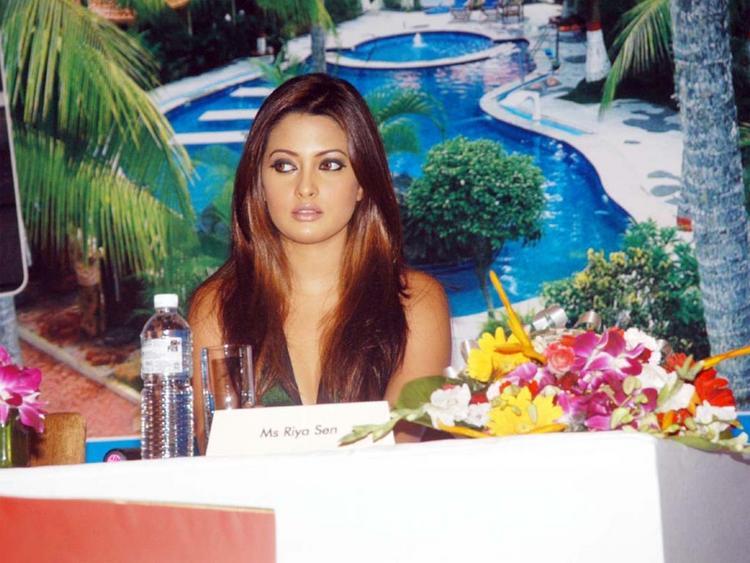 Riya Sen Brown Hair Sizzling Photo