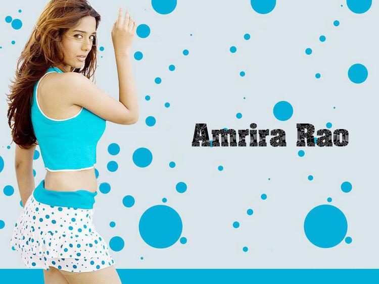 Amrita Rao Cute Mini Dress Wallpaper