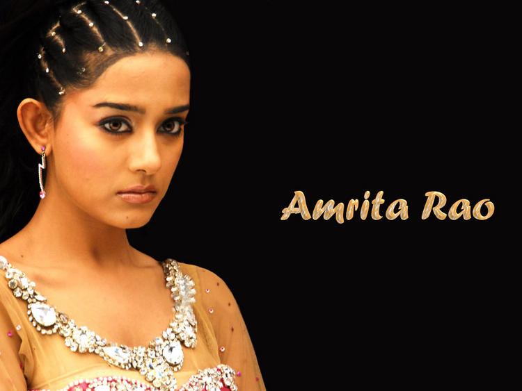 Amrita Rao Rock Hair Style Wallpaper
