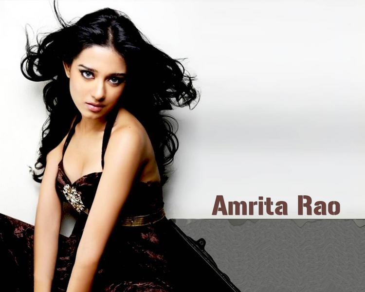 Amrita Rao Spicy Wallpaper