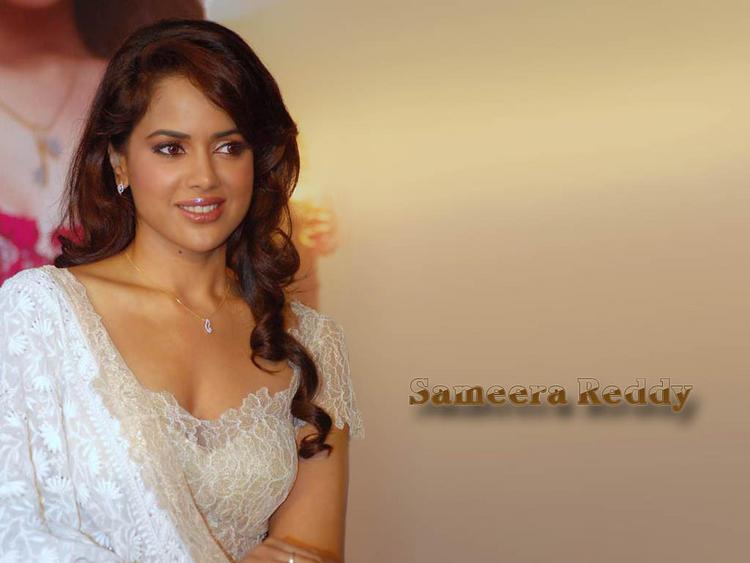 Sameera Reddy Nice Look Wallpaper