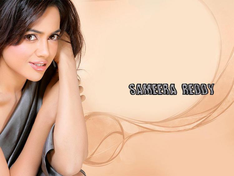 Sameera Reddy Sizzling Wallpaper