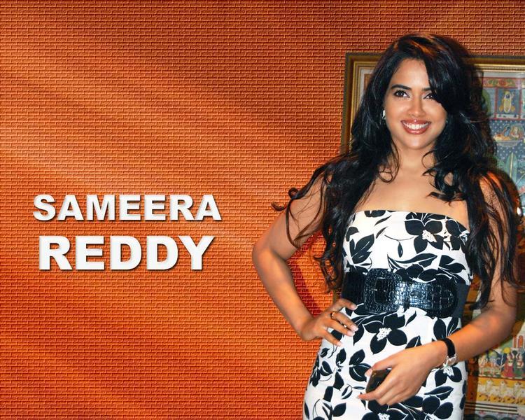 Sameera Reddy Sleeveless Dress Hot Wallpaper