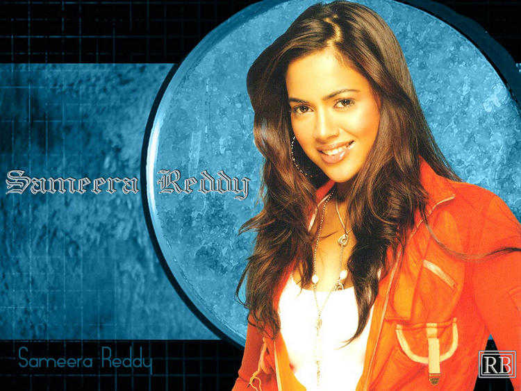 Sameera Reddy Sweet Gorgeous Wallpaper