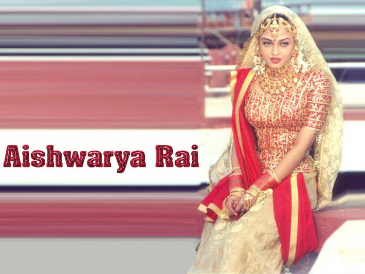 Aishwarya Rai Beautiful Bridal Look wallpaper
