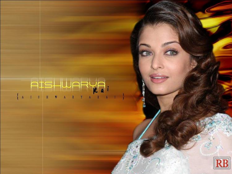 Aishwarya Rai Curly Hair style Wallpaper