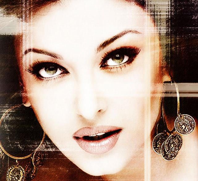 Aishwarya Rai Sexy Eyes Look wallpaper
