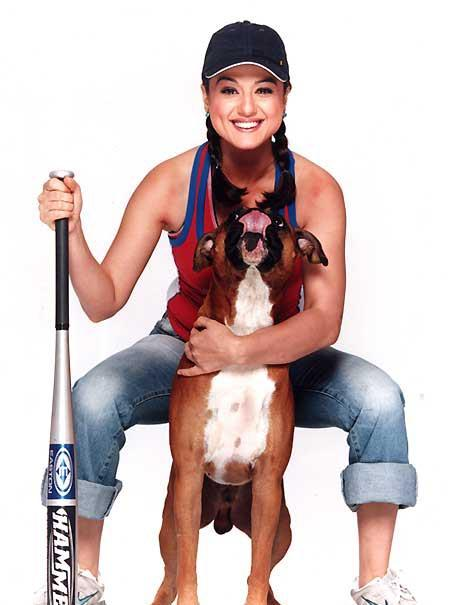 Preity Zinta Latest Cute Sweet Still With Dog